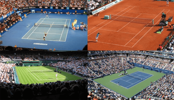 Surface Types of Tennis Court